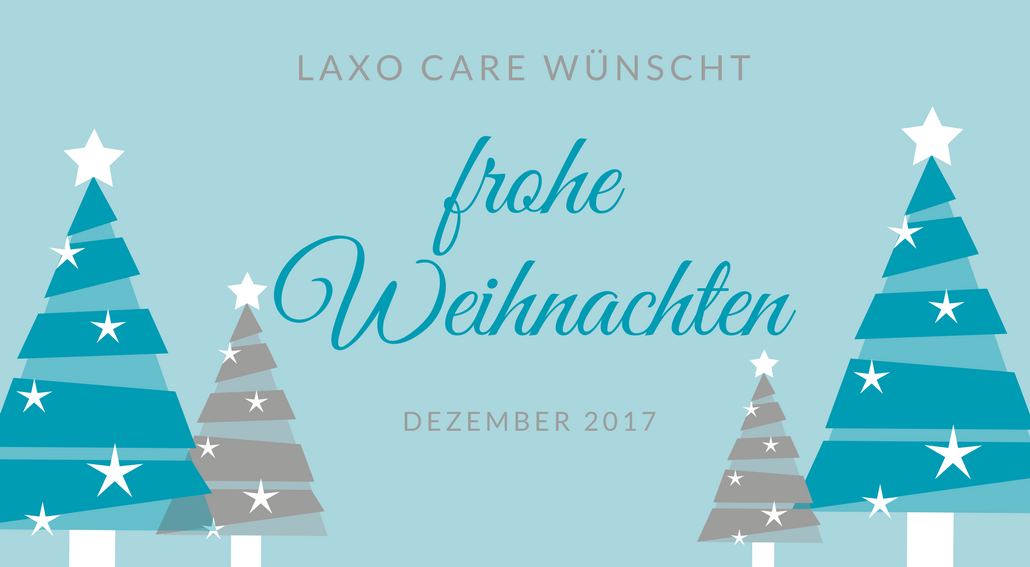 Frohe Weihnachten - Laxocare