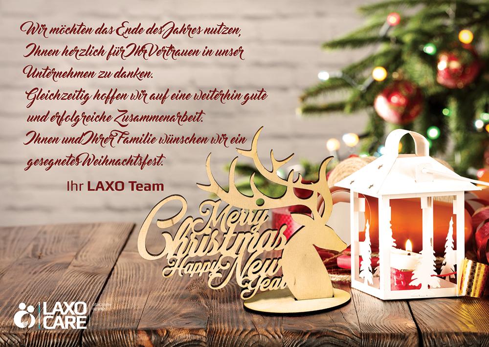 Frohe Und Gesegnete Weihnachten.Frohe Weihnachten Laxocare